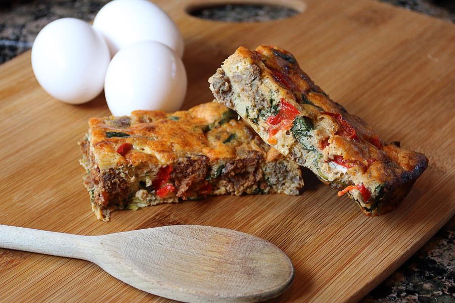Eggceptional Sausage Keto Frittata | Ruled Me