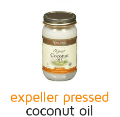 Spectrum Expeller Pressed Organic Coconut Oil