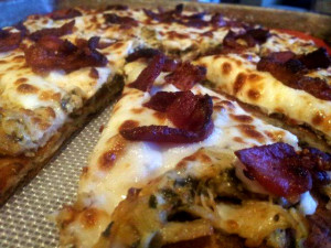 Kitchen Sink Low Carb Pizza