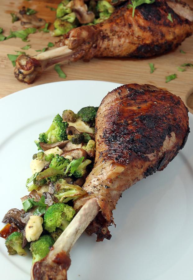 Oven Roasted Turkey Legs | Ruled Me