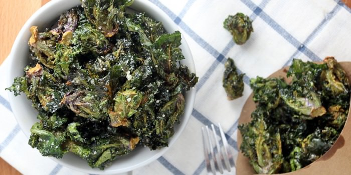 Fried Kale Sprouts