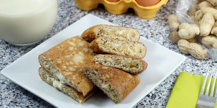 Keto Peanut Pancakes