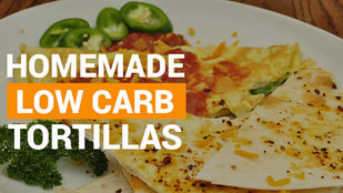 Delicious Low Carb Tortillas