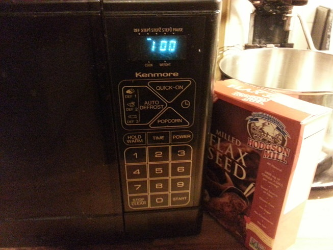 Microwave for 1 minute.