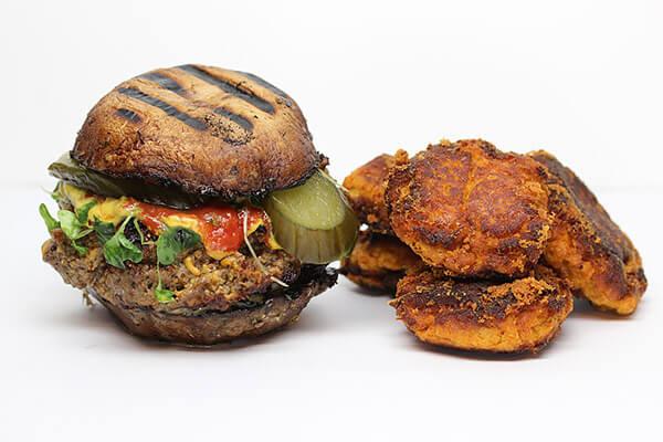 Guilt Free Portobello Bun Burgers