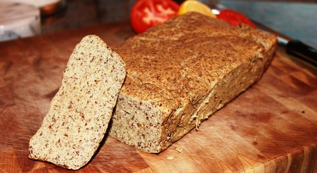 Low Carb Flax Bread