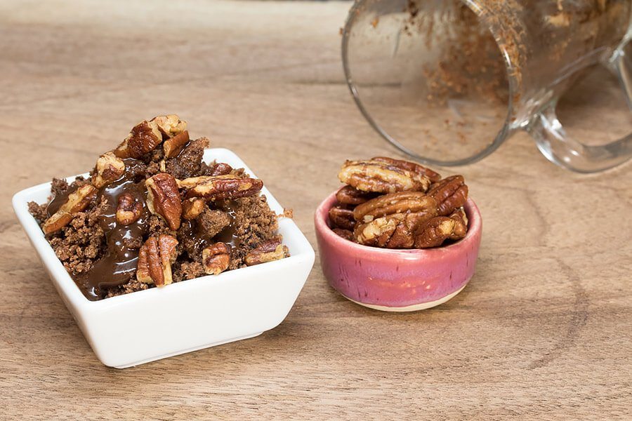 Extremely Simple Keto Microwave Brownies