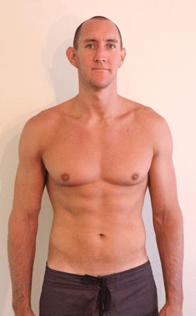 Male 10 percent bf