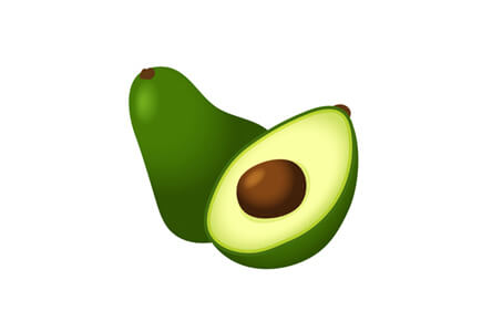 avocados are high fat