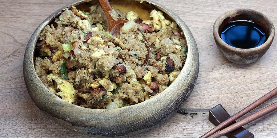 Low Carb Cauliflower Fried Rice