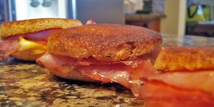 Keto Bites: Grilled Ham & Cheese
