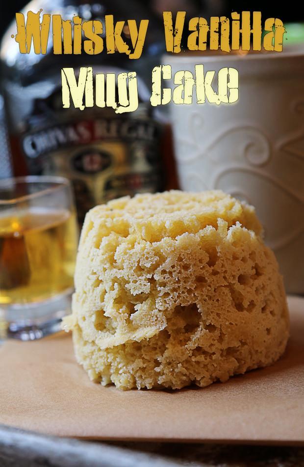 Vanilla Whisky Keto Mug Cake | Shared via www.ruled.me