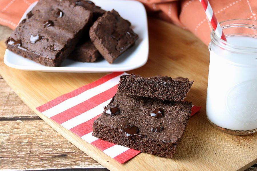 Low Carb Chocolate Brownies | Ruled Me