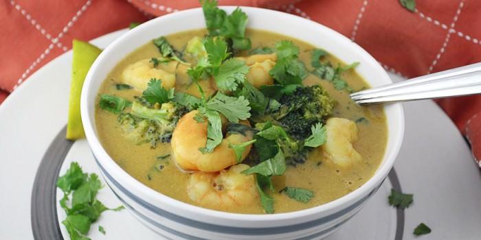 Thai Peanut Shrimp Curry