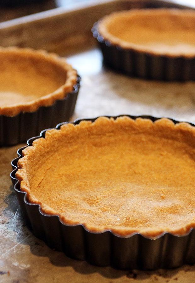 Keto Pie Crust | Shared via www.ruled.me/