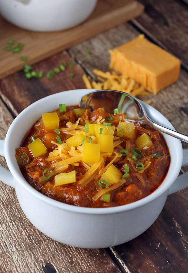 Delicious, tangy, and smokey - made into a comforting soup! Shared via www.ruled.me/