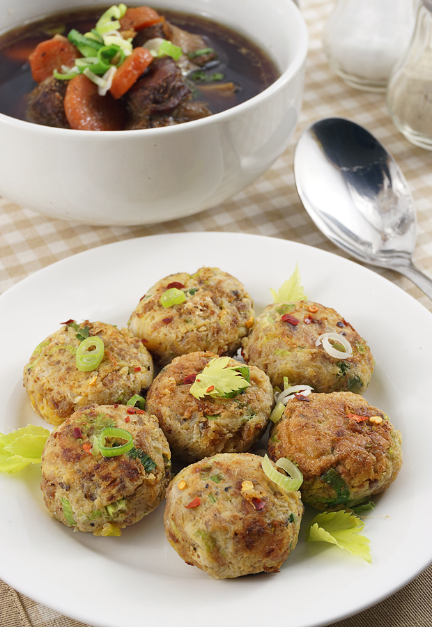 "Take a #keto journey to Asia with these delightful fried ""potato"" patties. Shared via www.ruled.me/"
