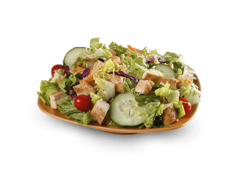 Bojangles salad - there are few ketogenic options here