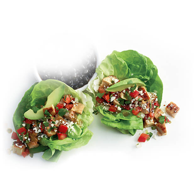El Pollo Loco lettuce wraps