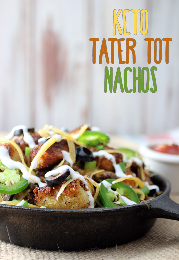 #Keto Tater Tot Nachos, or Totchos, are an up and coming delicious food that you have to try! Shared via www.ruled.me/