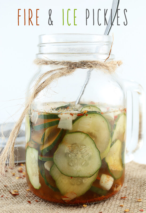 A #lowcarb way to get crunch, sweet, and spice into any dish you want! Fire & Ice Pickles. Shared via //www.ruled.me/