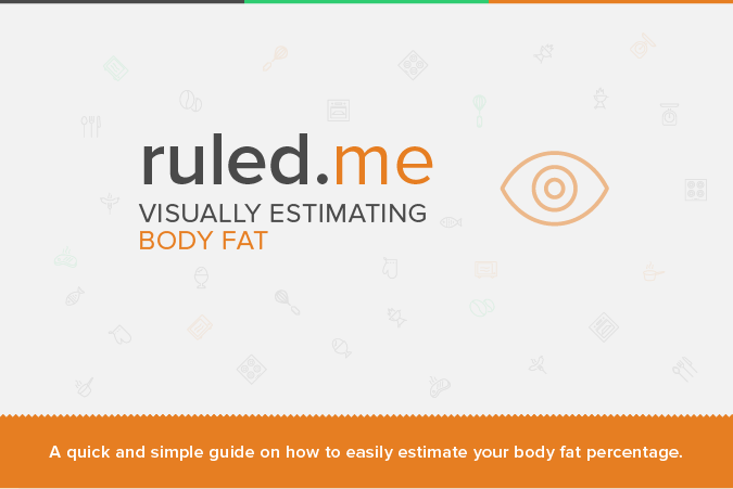 Visually Estimating Body Fat Percentage | Ruled Me