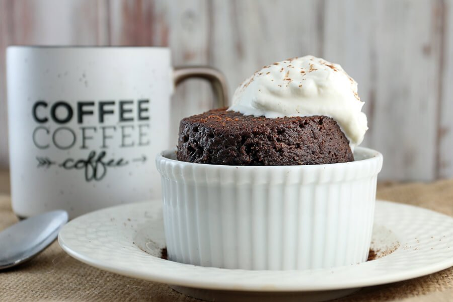 Coconut Cake Recipe Keto: Keto Chocolate Cake In A Mug
