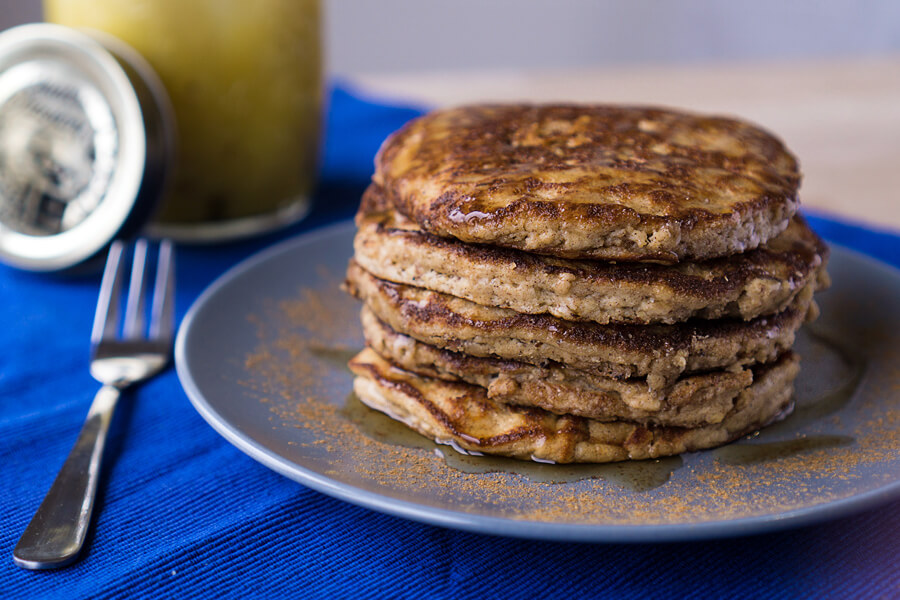 Low Carb Pumpkin Pancakes | Ruled Me