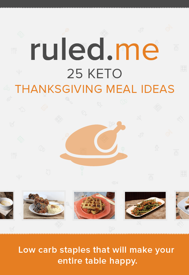 25 Simple Thanksgiving Meal Ideas that will get you through the Holiday! Shared via //www.ruled.me/