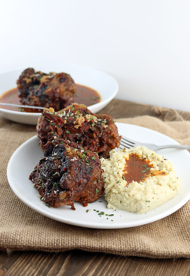Low and slow oxtails with a keto gravy on the side. A beautifully tender dish with flavor to back it up! Shared via //www.ruled.me/