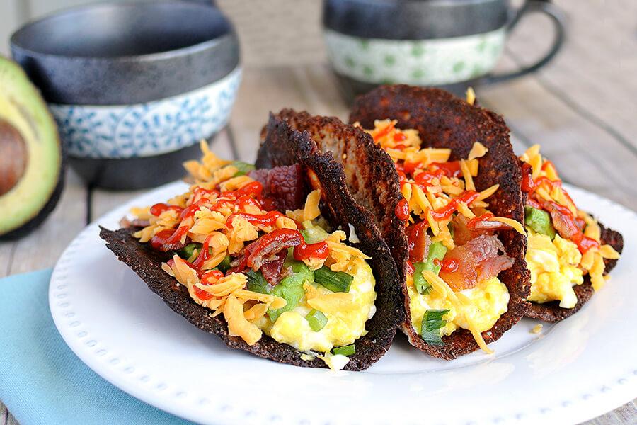 Keto Breakfast Tacos   Ruled Me