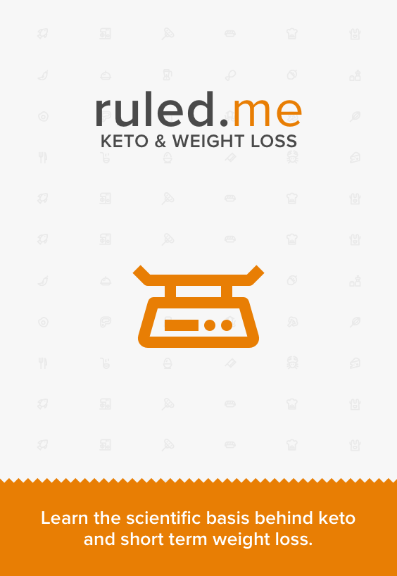 A great article that shows short-term weight loss results of a ketogenic diet. Shared via //www.ruled.me/