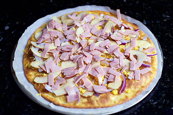 Apple & Ham Flatbread