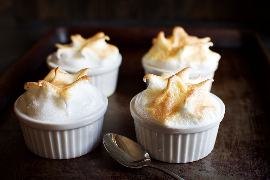 Keto Lemon Meringue Custard