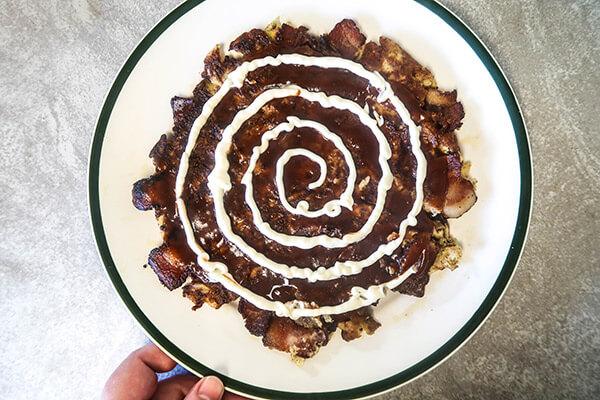 Keto Okonomiyaki