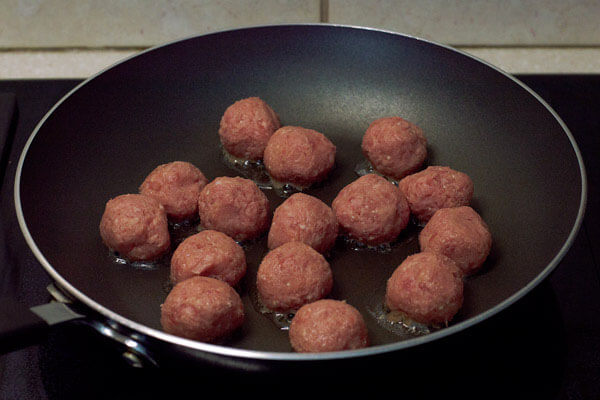 Low Carb Sweet and Sour Meatballs