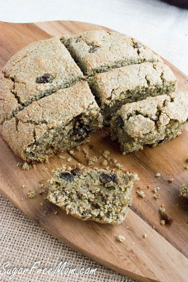 Grain Free Irish Soda Bread