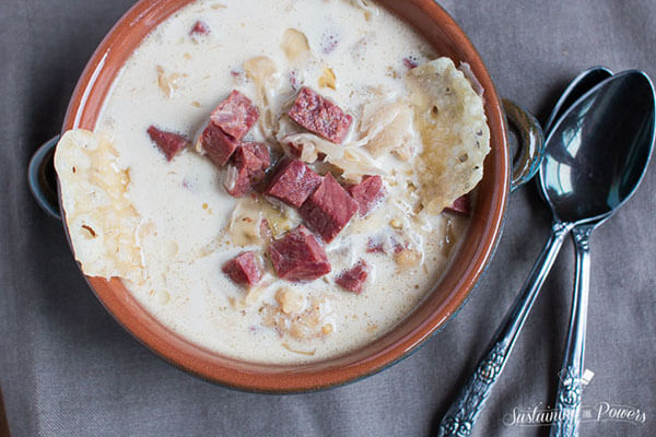 Low-Carb/Keto Slow-Cooker Reuben Soup