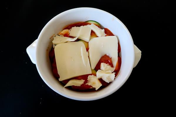 Keto Mug Lasagna
