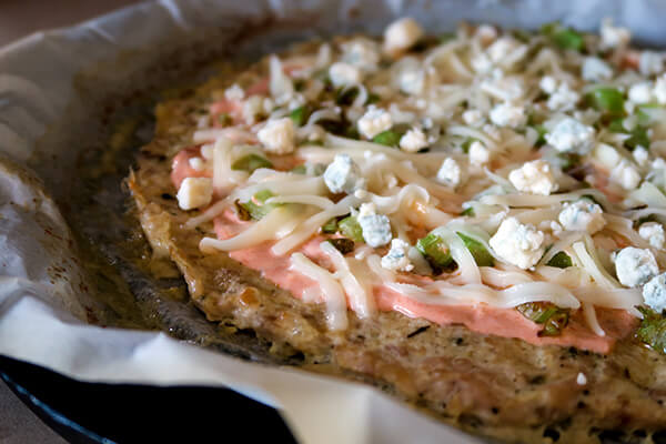 Buffalo Chicken Crust Pizza