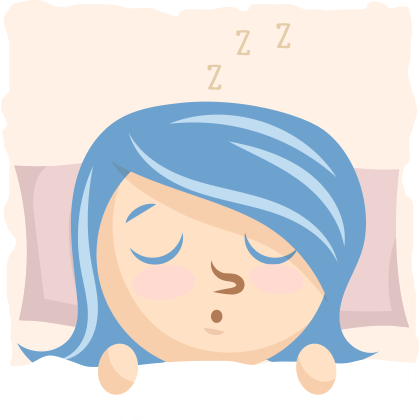 Sleep will help the body be active and recover.