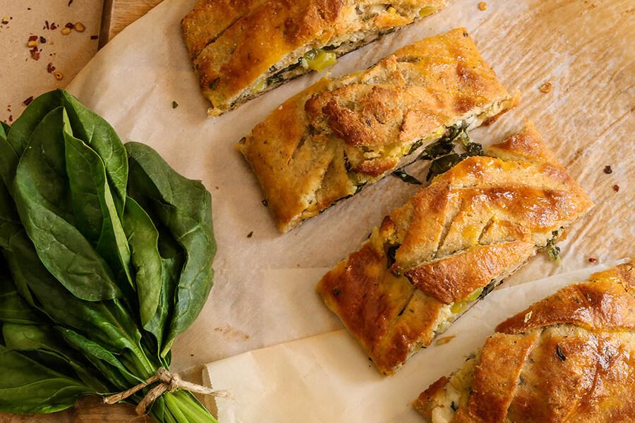 Italian Cheesy Bread Bake