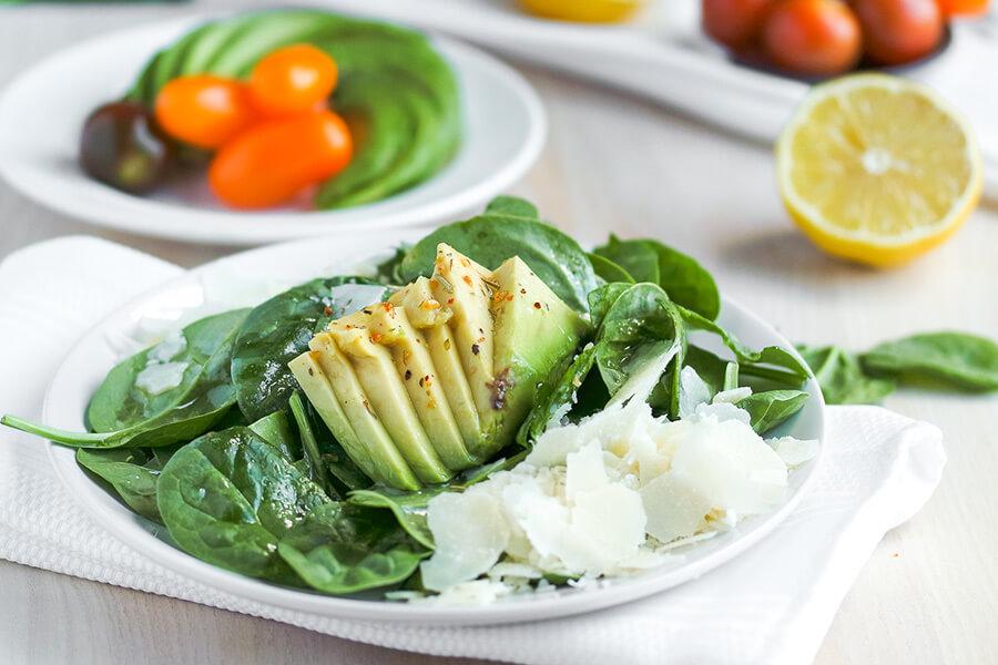 Spinach & Watercress Keto Salad