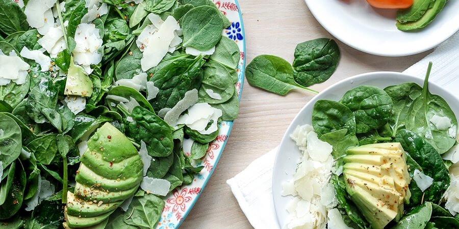 Spinach & Watercress Keto Salad
