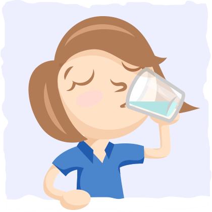 Make sure to drink plenty of water.