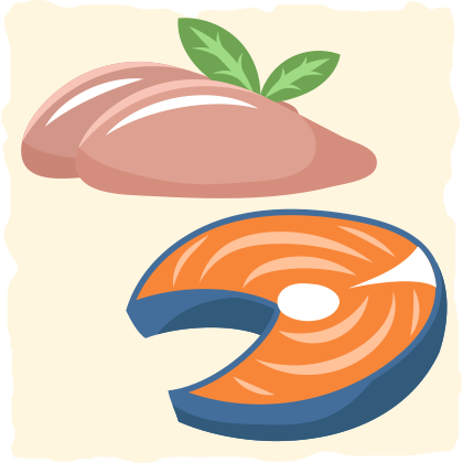 If you're still concerned about red meat, consider adding more fish and poultry into your diet.