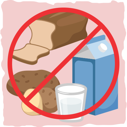 Restricting carbohydrates and dairy should be beneficial.