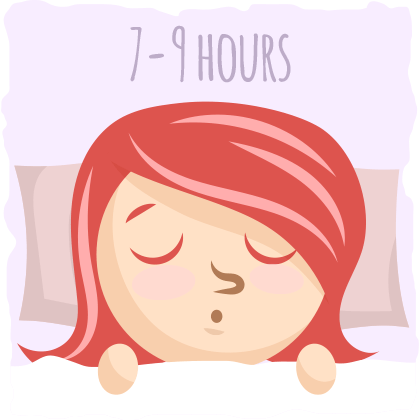 Try to prioritize your sleep.