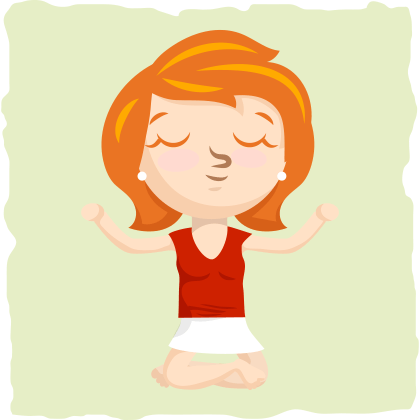 Utilize meditation to relieve and reduce stress.