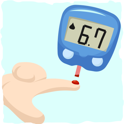 How to check your blood sugar levels.